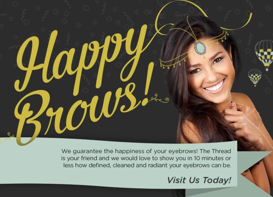 San Diegos Premier Eyebrow Threading Bar
